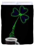 Irish Coffee Duvet Cover