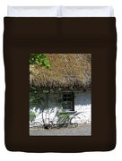Irish Farm Cottage Window County Cork Ireland Duvet Cover