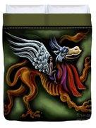 Irish Golden Age #14-jabberwock Duvet Cover
