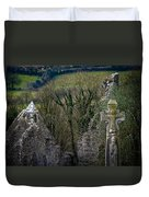 Irish History In The Countryside Duvet Cover