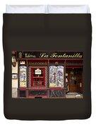 Irish Pub In Spain Duvet Cover