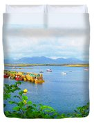 Roundstone Seaport Duvet Cover