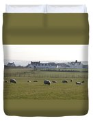 Irish Sheep Farm Duvet Cover