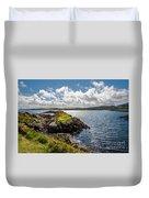 Irish Shore Duvet Cover