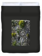 Irish Stone Flowers Duvet Cover