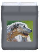 Irish Wolfhound Beauty Duvet Cover