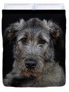 Irish Wolfhound Droc Vi Duvet Cover