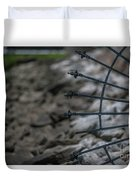 Iron And Rocks Duvet Cover