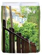 Iron Fence 2 Duvet Cover