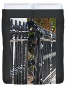 Iron Fence Duvet Cover