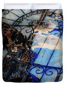 Iron Gate Abstract Duvet Cover