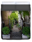 Iron Gate Alley Duvet Cover