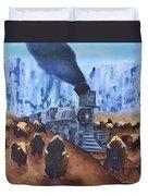 Iron Horse Duvet Cover