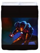 Iron Man Duvet Cover by Paul Meijering