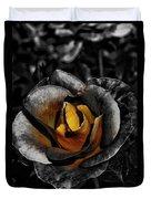 Iron Rose Duvet Cover