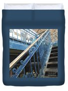 Iron Staircase Duvet Cover