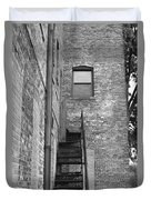 Iron Steps Duvet Cover