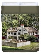 Ironmaster Mansion At Hopewell Furnace  Duvet Cover
