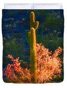Ironwood Saguaro Dance - Bold Duvet Cover