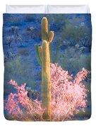 Ironwood Saguaro Dance Duvet Cover