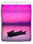 Irrawaddy River Duvet Cover