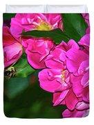 Irresistible Rose - Paint Duvet Cover