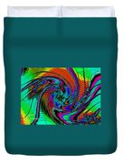 Irritations Converging Into A  Swirl Catus 1 No. 1 H A Duvet Cover