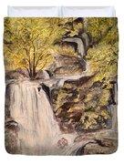 Iruppu Falls  Duvet Cover