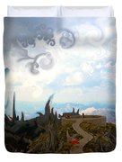 Is It  Duvet Cover by Marko Mitic