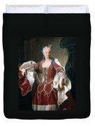 Isabella Farnese. Queen Of Spain Duvet Cover