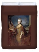 Isabella Louise Of Orleans. Queen Of Spain Duvet Cover