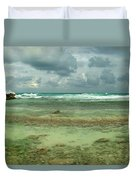 Isla De Mujeras North Shore Duvet Cover