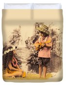Island Children Duvet Cover