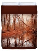 Island Creek Story Duvet Cover
