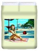 Island Girl Duvet Cover