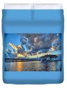 Island Heights  Duvet Cover