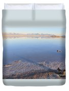 Island In The Desert 3 Duvet Cover