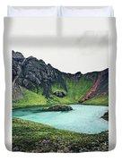 Island Lake Duvet Cover