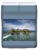 Island Of The Fishermen Duvet Cover