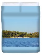 Island Off Of Cedar Key Duvet Cover
