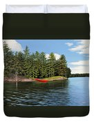 Island Retreat Duvet Cover