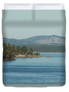 Islands And Mainland Duvet Cover
