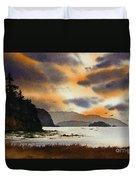 Islands Autumn Sky Duvet Cover