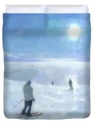 Islands In The Cloud Duvet Cover