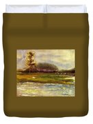 Islands On The River Duvet Cover