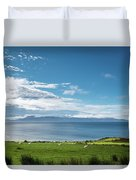 Isle Of Arran Under Cloud Duvet Cover