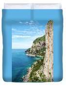 Isle Of Capri Duvet Cover