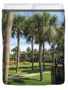 Isle Of Palms Duvet Cover