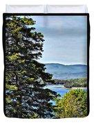 Islesboro View  Duvet Cover