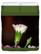 Isolated Flower  Duvet Cover